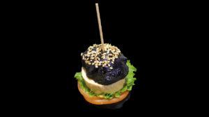 Hamburger de poisson maison avec pain Negri
